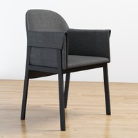 3d model grace chair