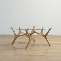 tabanda moose coffee table 3d obj
