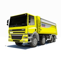 3d low-poly daf cf