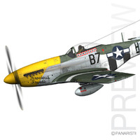 North American P-51D Mustang - Ferocious Frankie