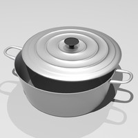 pan kitchen 3d model