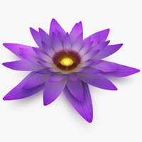 realistic flower 3d model