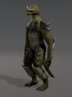 mutant monster 3d model