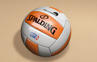 beach volleyball 3d c4d