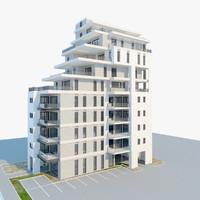 3d building amir