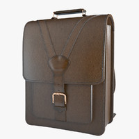 3d photoreal backpack beara model