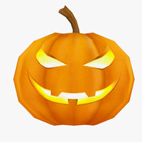 pumpkin 3d max