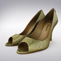 3d women s gold soft model