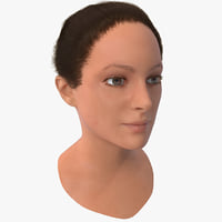 maya female head 5 version