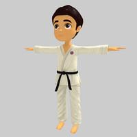 3D Karate Kid