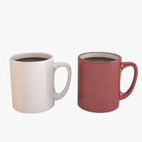 3ds coffee cups