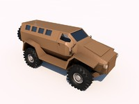 3d ambush mrap model