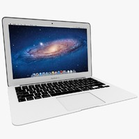 macbook air 2011 13-inch 3d model