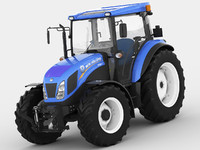 new holland td5 3d model