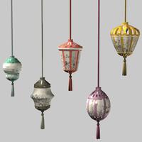 maya oriental style lanterns