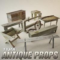 3ds antique props pack