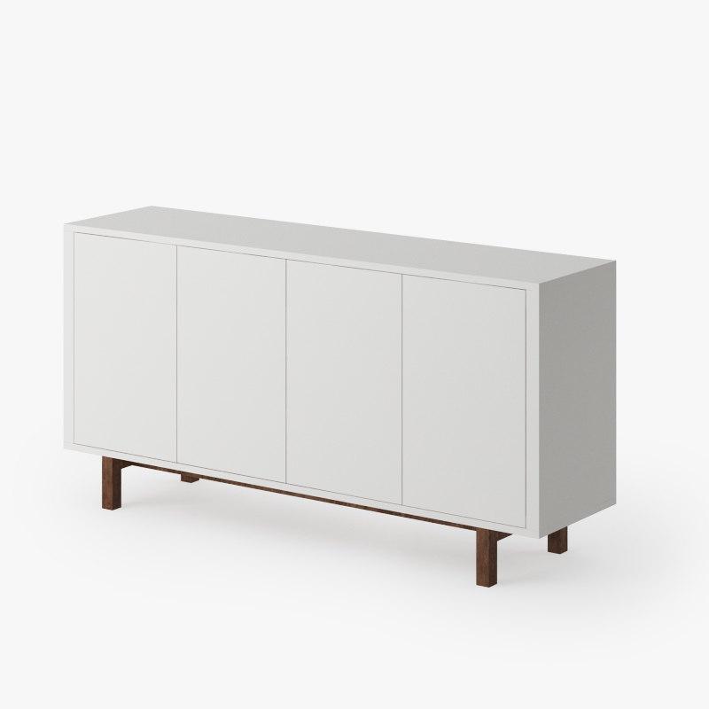 Ikea stockholm buffet 3d max - Ikea meuble stockholm ...