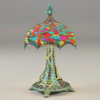3d model lamp mystic