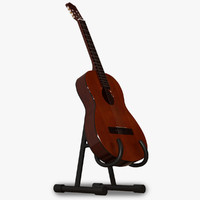 maya guitar stand