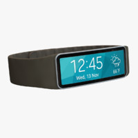 maya samsung gear fit gold