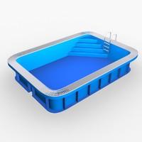 garden pool max