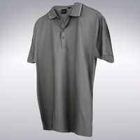 men tennis shirt scanning 3d max