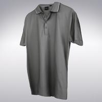 men tennis shirt scanning 3d max