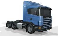 scania r 420 3d 3ds
