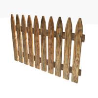 3d fence ready model