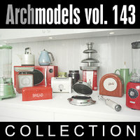 3d model archmodels vol 143