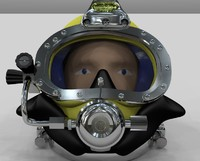 3dm diving helmet