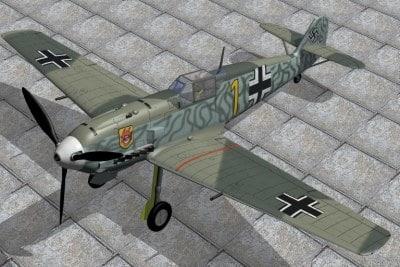 Messerschmitt 109E-4