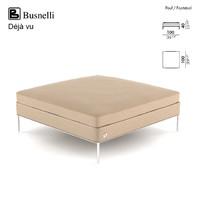 busnelli deja vu footstool 3d model