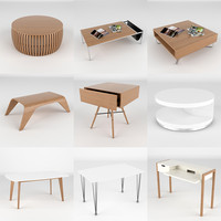 3d model of tables realistic