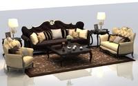 3dsmax sofa armchair chair