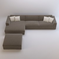 arketipo best sofa 3d model