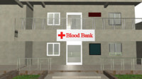Blood bank building