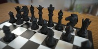 3D print ready Chess Set Faceted