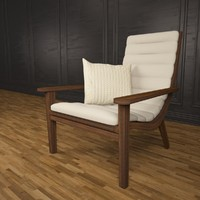 3d veranda armchair model