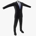 Men's Business Suit 3D models