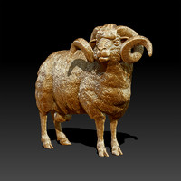 3ds sculpture ram