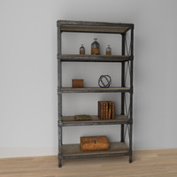 decorative shelf 3d model