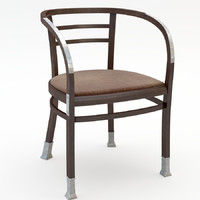 3d old chair model