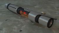 hd lasersword laser 3d obj