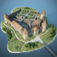 3ds max medieval castle
