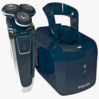 3ds max electric shaver philips norelco