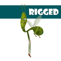 rigged green fly ma