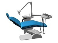 3ds max dental chair