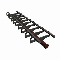 3d model roller coaster track