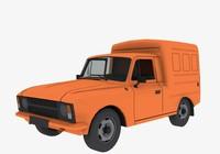 2715 moskvich 3d model